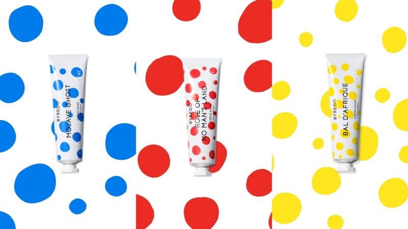 BYREDO 2021珍藏版護手霜太可愛!用彩色波卡詮釋三款經典香氛,紅點點的無人之境絕對是圓點控必收