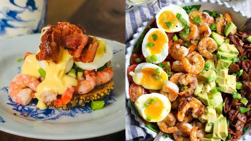 高蛋白低脂餐—太陽蛋蝦仁拌豆腐食譜,無敵美味一口吃下後會欲罷不能!