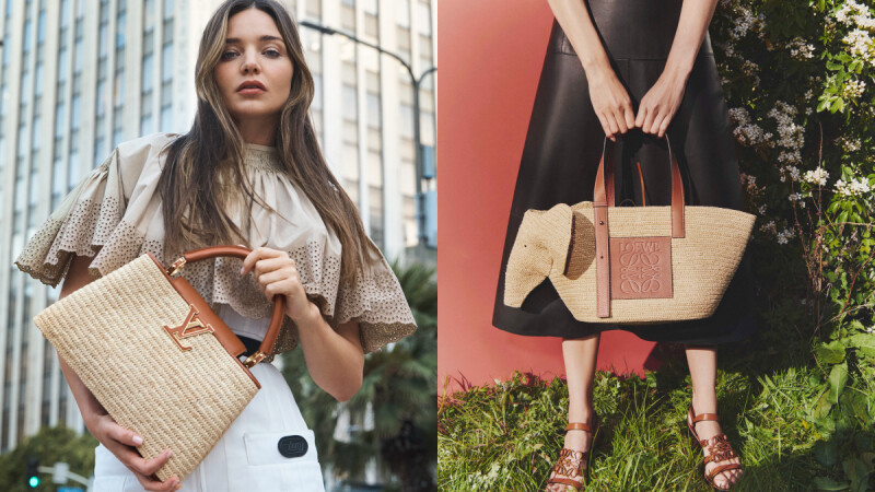 2021 夏季精品編織包盤點!Loewe大象包推出編織款,LV、Dior...超過10款編織包一次看(附售價