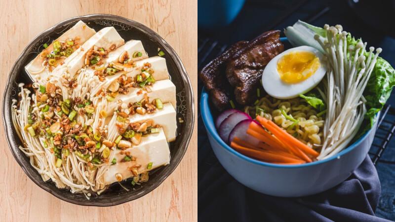 會一口接一口的低脂高纖維美味餐—金針菇豆腐煲 食譜做法來了!