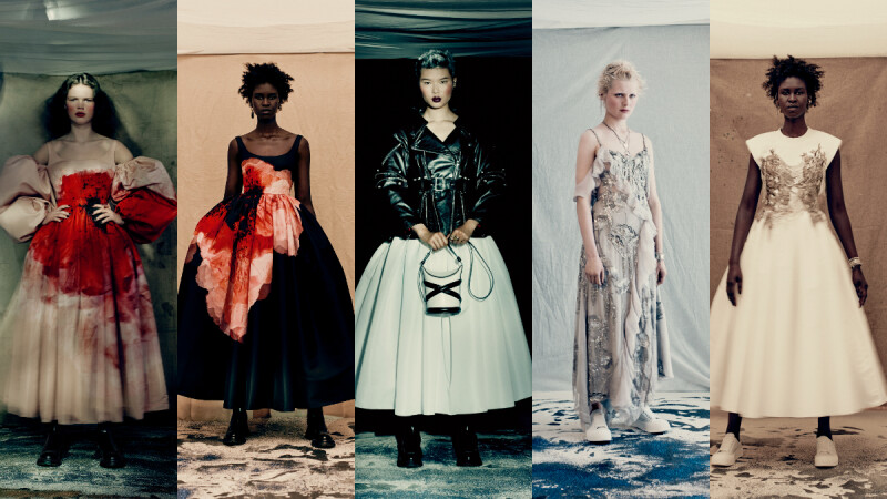 當時裝成為藝術品,十個造型帶你解析 Alexander McQueen 2021 秋冬女裝系列
