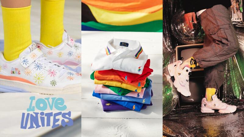 六月「同志驕傲月」!Reebok 七彩Instapump、Ralph Lauren彩虹Polo衫,盤點Versace、Levi's、MK...11個品牌2021最新彩虹單品