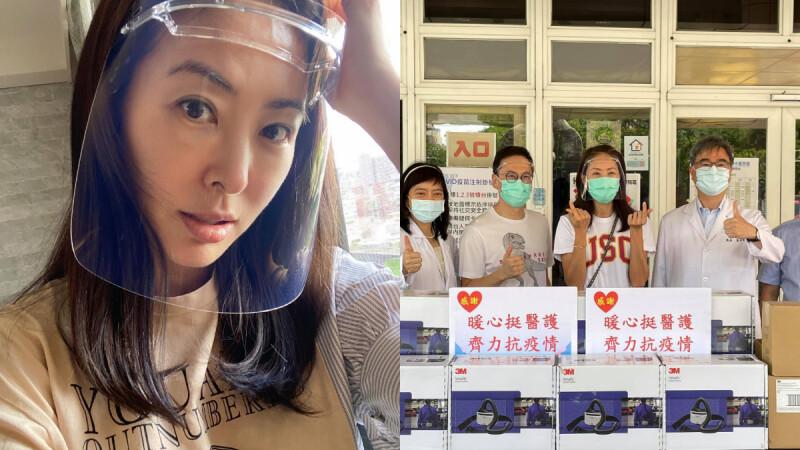 賈永婕才募捐救命神器!再自掏腰包砸百萬捐「呼吸防護具PAPR」挺醫護