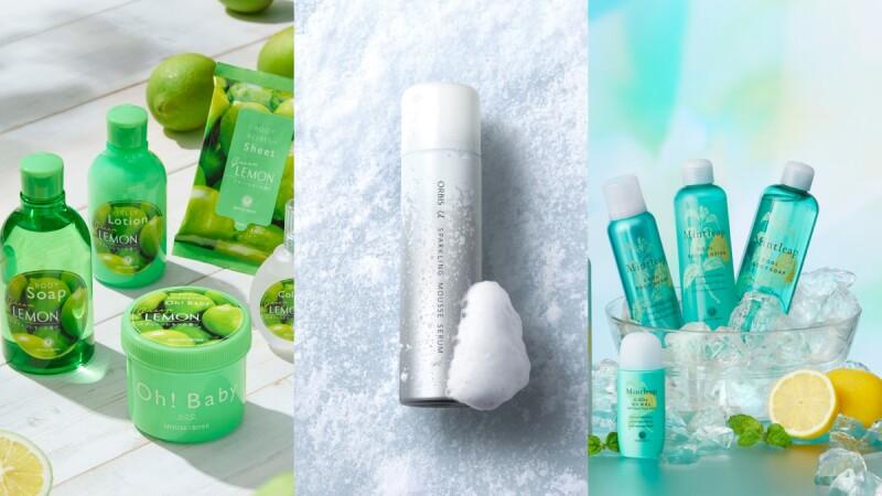 2021夏天涼感保養品推薦!從臉、身體、頭皮通通有,一用體感降溫、超級清涼