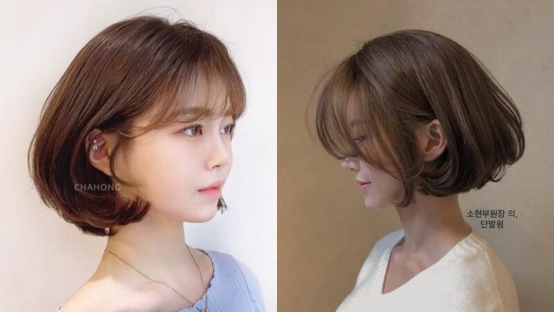 2021燙髮推薦:中短髮基本款氣球捲,超大彎度減齡又小臉!