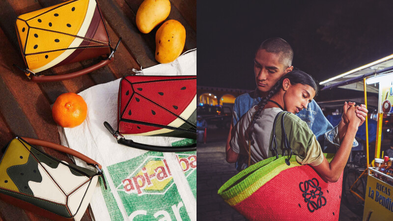 Loewe Paula's Ibiza水果系列Top 4包款推薦!熱賣拼圖包、夏日必備草編包…換上繽紛水果新衣(附售價