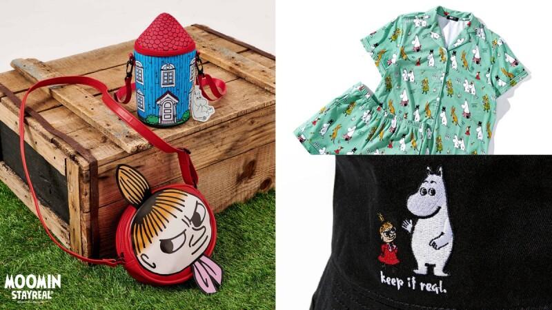 StayReal聯手嚕嚕米推出療癒系聯名!MOOMIN睡衣、小美帆布袋、漁夫帽、長襪…熱賣商品帶你看(附售價)