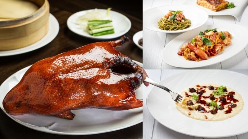 米其林外帶美食新選擇!文華東方一星中餐廳、義式料理每週換新菜,櫻桃鴨、生火腿披薩等50道佳餚,在家就能吃