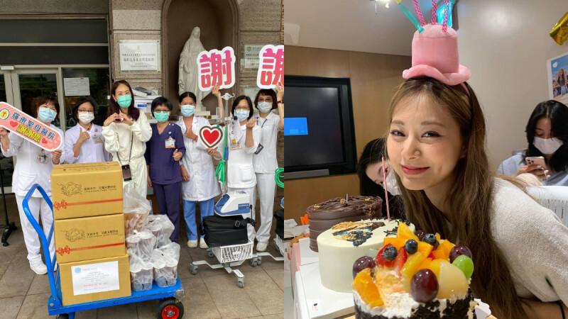 周子瑜捐50台PAPR呼吸防護器給醫護!賈永婕曝「這是她的生日願望」,神隊友名單還包括林依晨、許瑋甯