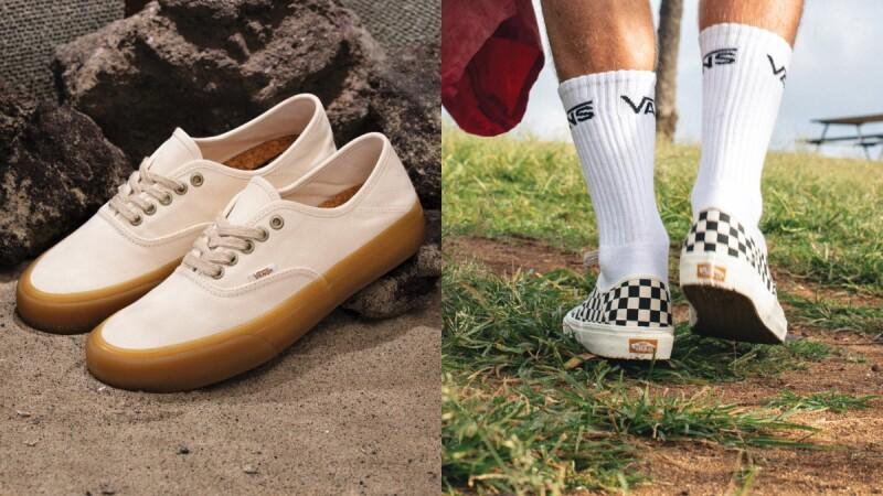 焦糖底小白鞋再一發!Vans全新ECO THEORY系列,焦糖系鞋底、環保材質、線上就能直接下單