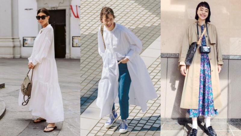 女生懶人穿搭首選「一件式洋裝」,三種搭配法讓夏天穿搭也能很多變,懶惰也能水噹噹