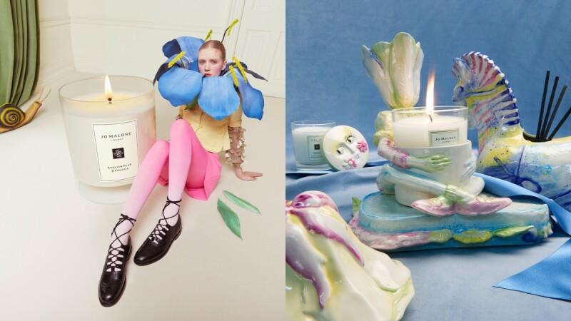 Jo Malone London 2021首推居家裝飾系列!與設計師聯名的花園奇遇系列,就像置身超現實花花世界