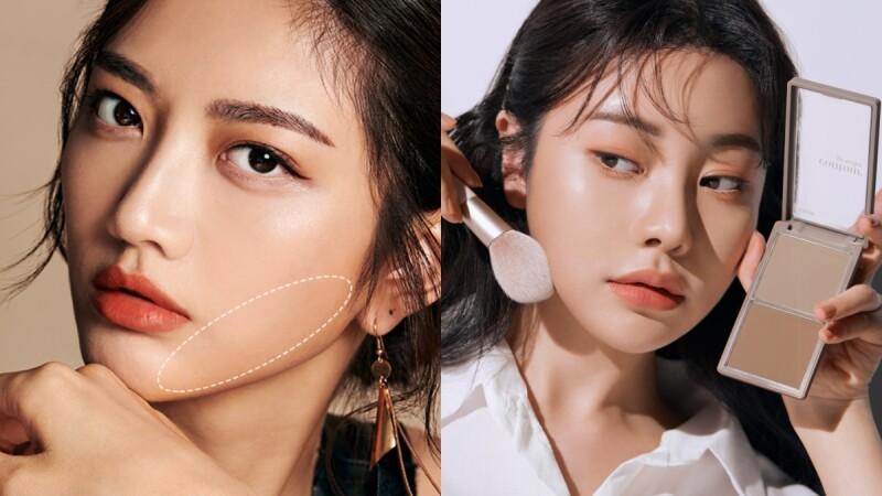 必學彩妝小臉技巧:修容基本3公式&臉型搭配,刷對地方讓五官瞬間變立體!