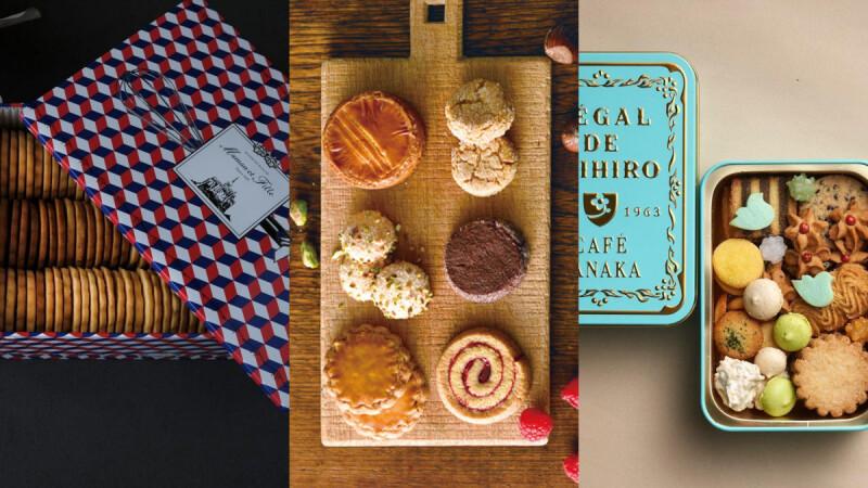 精選6款人氣日本鐵盒餅乾,可愛精美的鐵盒包裝能珍藏再使用