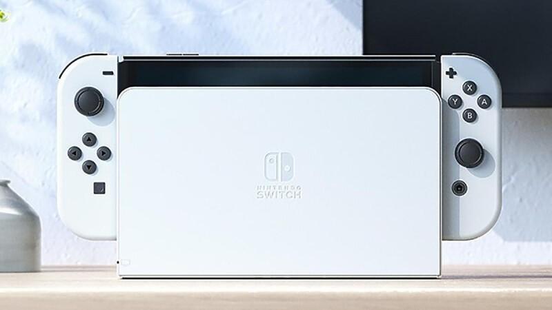 新主機真的來了!Switch OLED主機不能不知道的6大亮點&售價大公開,純白新色、新型底座、主機記憶體大升級