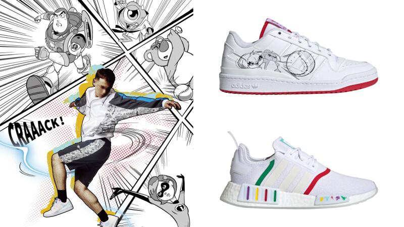 adidas Originals X迪士尼皮克斯最新聯名!巴斯光年、熊抱哥等化身超萌運動員,精選4款特色單品推薦