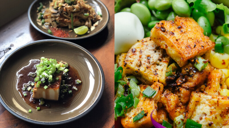 3道低脂豆腐料理食譜!香烤豆腐/蝦仁絲瓜野菇豆腐煲/醬拌荷包蛋豆腐來了