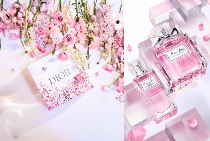 七夕最浪漫的Miss Dior髮香噴霧登場 還送上花漾愛戀限定包裝服務