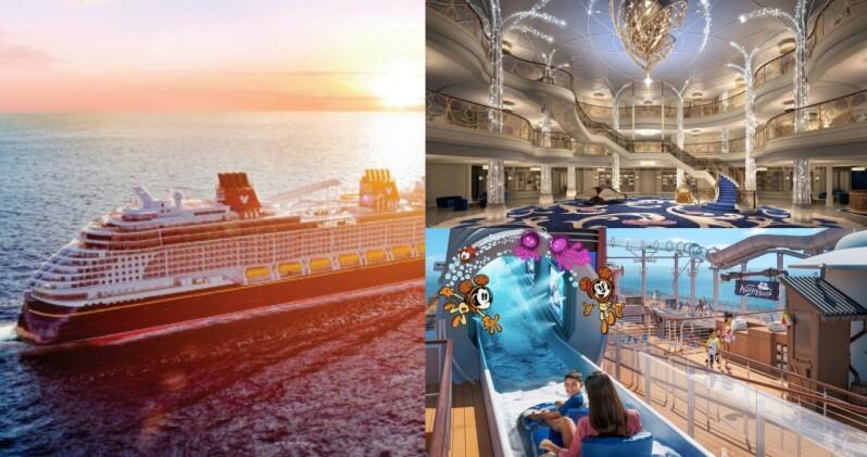 迪士尼全新郵輪「願望號」2022年啟航!夢幻童話內裝、首座海上樂園等4大特色,此生必坐一回