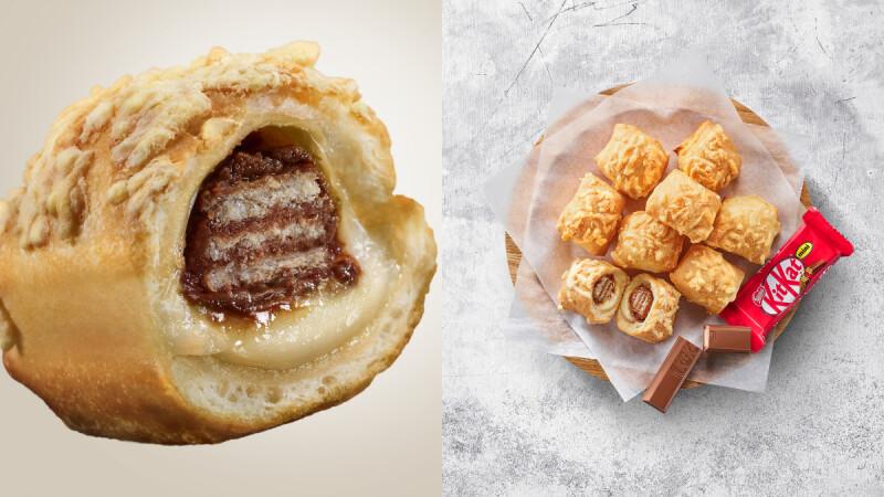 必勝客又有新商品了!找來KitKat合作打造「爆爆芝心球 X KitKat巧克力」,甜食控必須吃起來