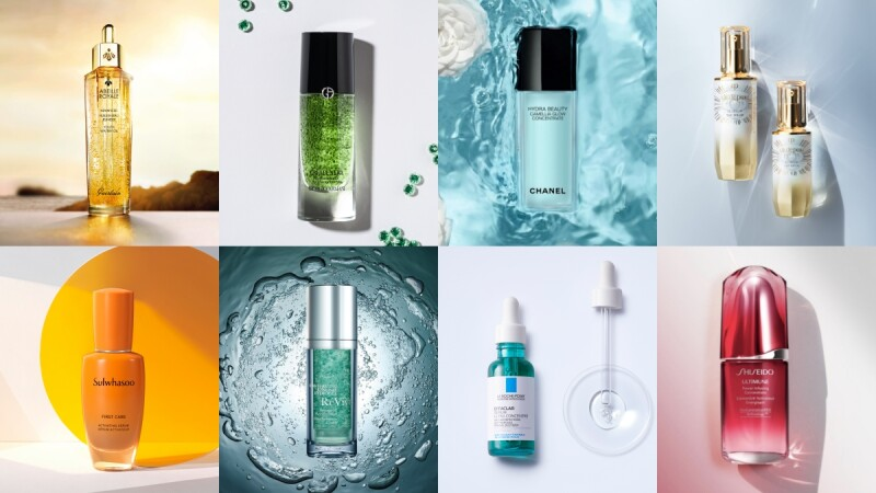2021夏天養膚精華專櫃+開架12款新品推薦,著重保濕、煥膚、修護…宅在家肌膚默默變好