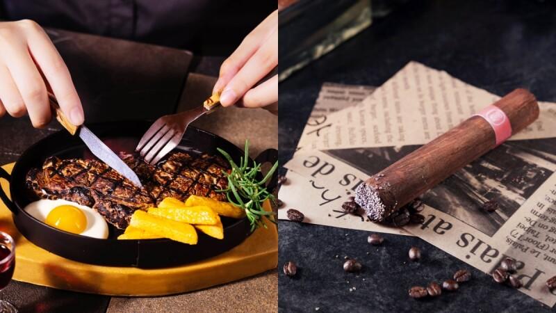 2021特色父親節蛋糕!超逼真沙朗牛排、煙灰雪茄給爸爸滿滿驚喜,還有「大人系」酒香蘭姆葡萄千層必嚐