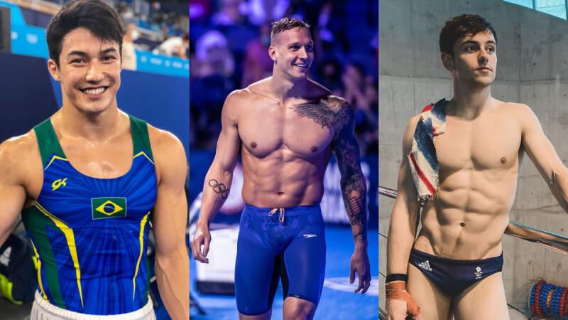 2021東京奧運鮮肉帥哥在這邊!楊俊瀚、王冠閎、飛魚接班人Caeleb Dressel,還有巴西體操王子Arthur Nory
