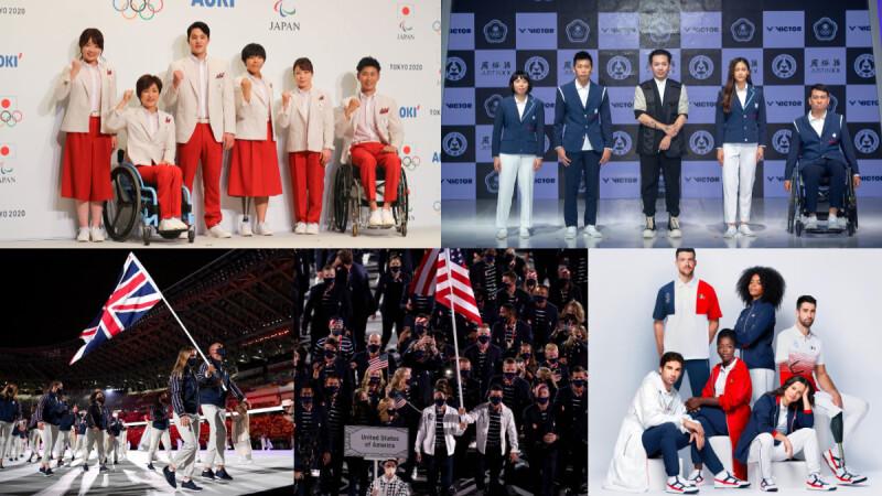 盤點 2021東京奧運進場制服設計,台灣、日本、義大利、法國、英國…各有風格與文化
