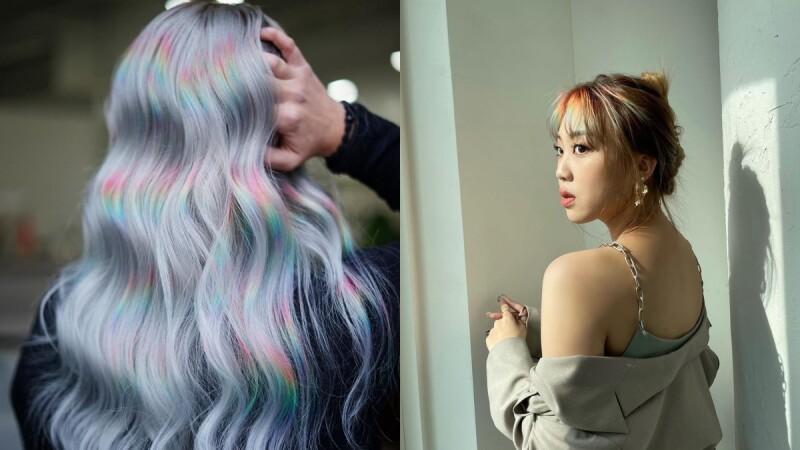 2021夏天染髮:個性感滿溢的Prism稜鏡髮色,夠大膽、夠前衛才敢嘗試!