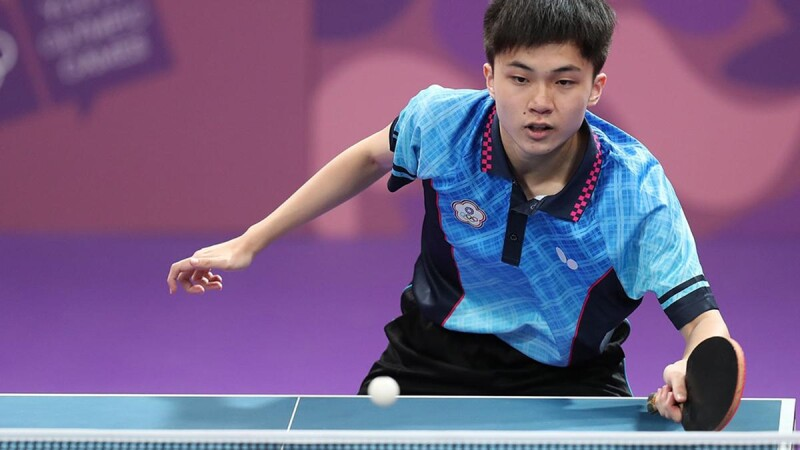 林昀儒奧運桌球新星!東京奧運混雙銅牌後單打晉級4強,躍升世界排名第5名,曾擊敗球王一戰成名