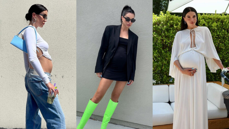 懷孕照常耍辣!取經美國時尚部落客Brittany Xavier的孕婦穿搭,時髦孕照pose一併教給你