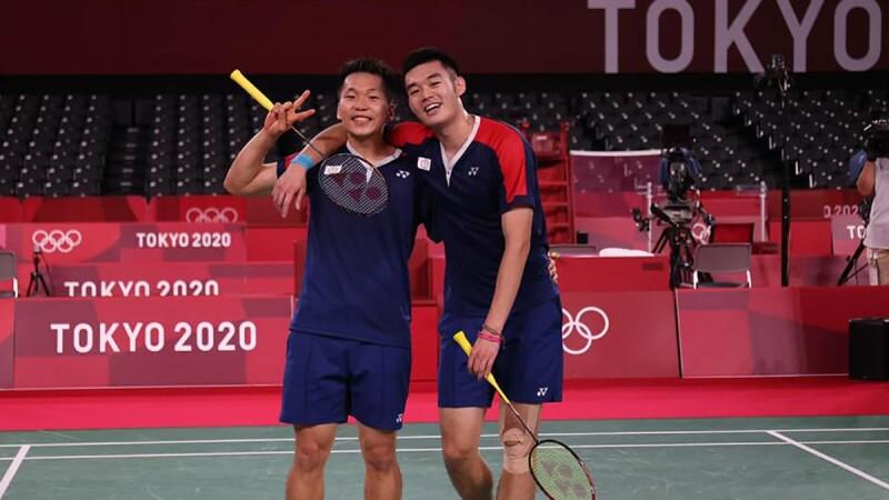 王齊麟、李洋奧運金牌入袋!麟洋配在東京奧運創下台灣羽球男雙最佳成績,擊敗世界第一、第二隊伍,以絕佳默契打出漂亮比賽
