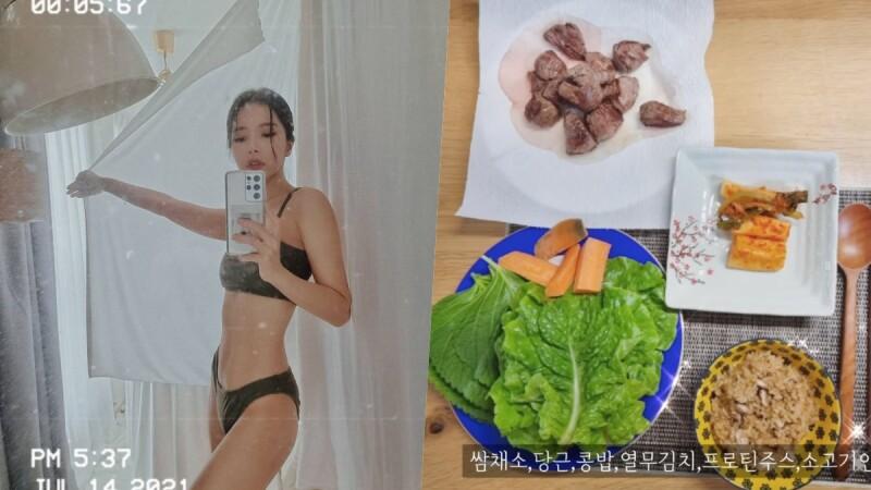 這樣吃就能瘦下來?牛肉、南瓜、五穀米⋯韓星親揭一日三餐減重食譜!