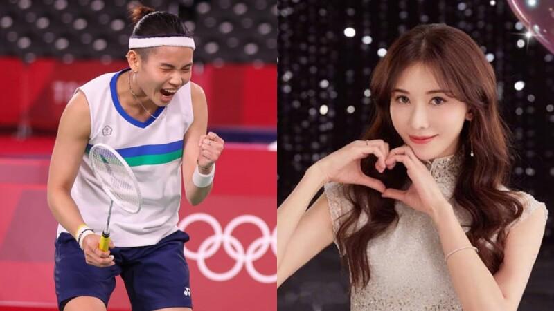 戴資穎東京奧運擊敗宿敵晉級4強!林志玲手寫信、送禮祝賀:「你永遠是最棒的!」