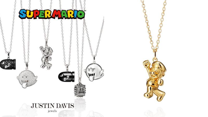 呼叫超級瑪利歐狂粉!Super Mario X Justin Davis推出超可愛聯名項鍊,4款電動角色墜飾、角色名稱帶你認識