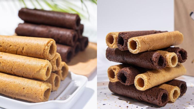 《鮮乳坊》推出中秋「手作厚蛋捲禮盒」!優質鮮乳打造高品質奶香,還有苦甜巧克力口味