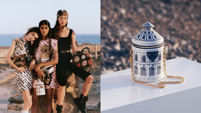 LV X Fornasetti聯名系列!博物館等級的精品,雕塑印花小包、古典錢幣項鍊…值得收藏的包包+飾品這一篇告訴你(附售價