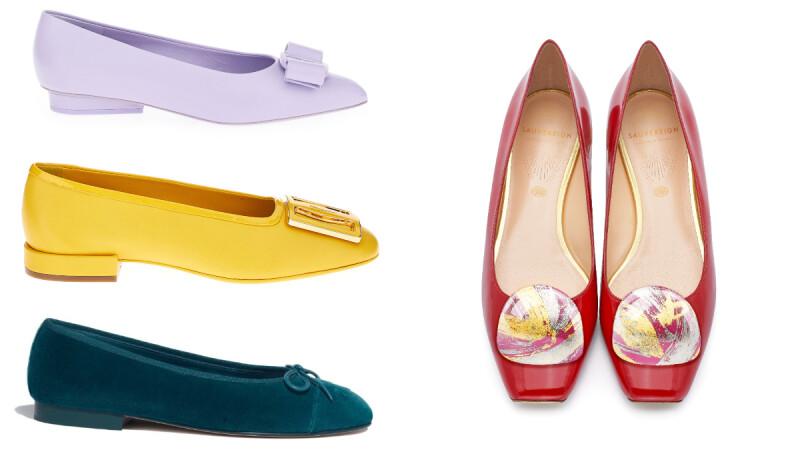 女人鞋櫃必備,盤點芭蕾舞鞋設計與起源解析,薰衣草紫、奶油黃、玫瑰紅...隨興搭出高級私服風格