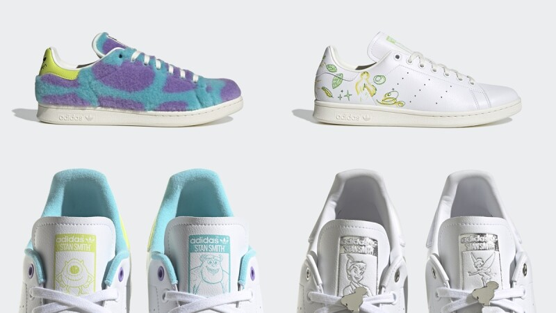 adidas Originals X Disney Stan Smith聯名系列誠意滿滿!集合毛怪、大眼仔、彼得潘、瓦力還有雷神索爾…全系列10雙球鞋亮點、售價整理給你