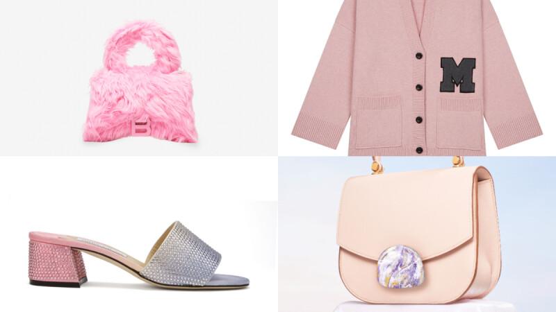 夏末粉色系單品推薦,跟鞋、側背小包、手提包、針織外套...粉嫩色系帶來愉悅好心情
