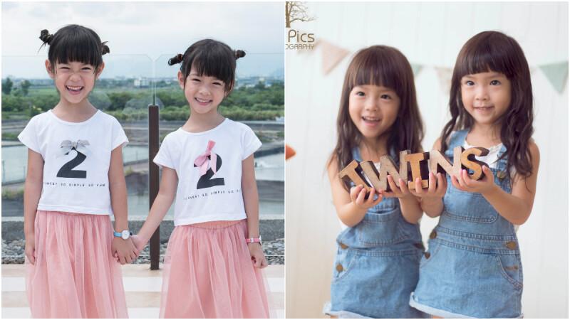 ZARA欽點兒童網紅模特!蘋果&西打,小清新國民雙胞胎姐妹
