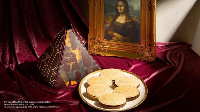 瘋搶警告!羅浮宮變身最有藝術氣息的中秋禮! Häagen-Dazs 與法國羅浮宮首度推出的聯名月餅禮盒,美到M編立刻秒下訂!