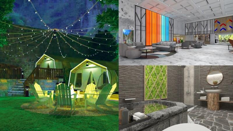 2021谷關最新溫泉飯店!統一渡假村打造「泡湯豪華露營帳篷」,徹底沈浸自然山林、原住民文化洗滌身心