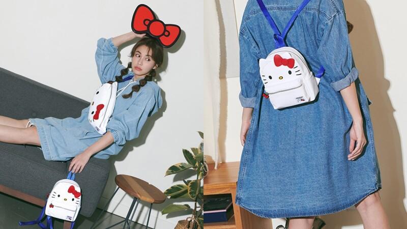 Stayreal X三麗鷗聯名系列Hello Kitty、酷企鵝、布丁狗變成腰包、後背包、側背小包萌翻天
