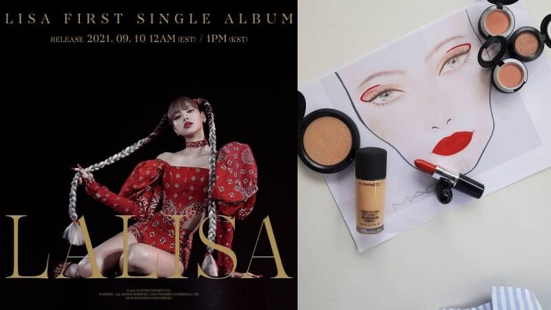 Lisa要回歸了!吸睛紅線妝、氣勢唇是M.A.C這支新唇膏,彩妝師公開清單