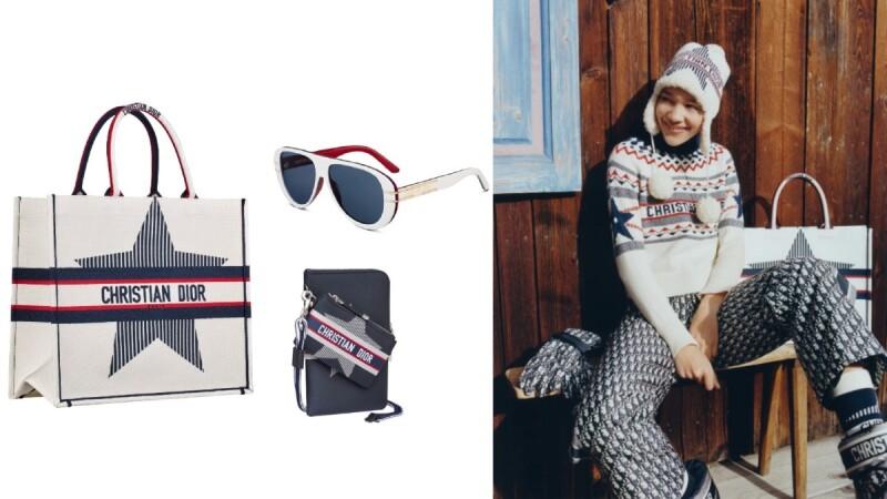向山嶽雪谷自然魅力致敬!DiorAlps結合機能性與時尚外型,讓喜愛滑雪女孩也能時髦出遊