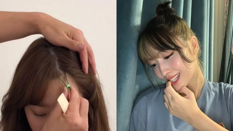 瀏海分岔怎麼辦?日、韓髮型師親授三大技巧,再也不怕睡醒頭髮開花!