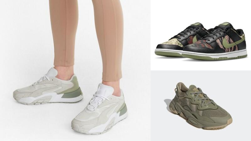 2021軍綠色系球鞋!Nike、Converse、Veja休閒鞋…多雙軍綠色球鞋盤點