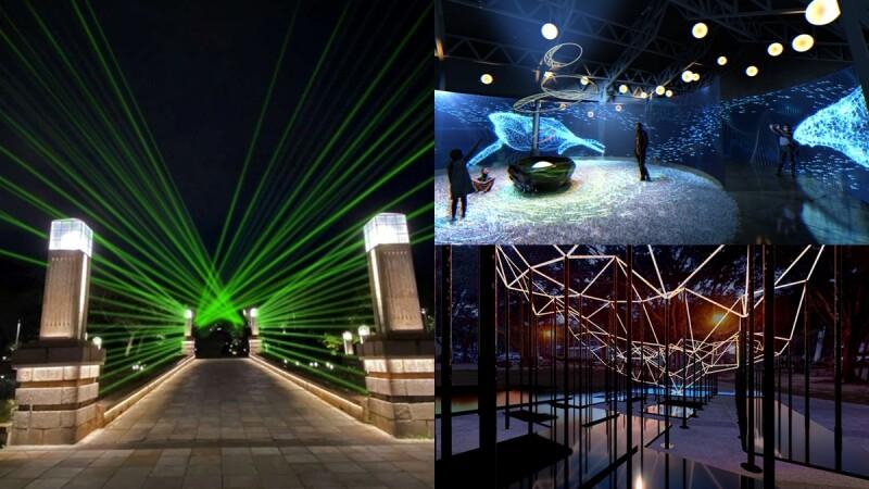 2021新竹光臨藝術節「科技未來」燈區9/10起跑!三大公園變身光之盛宴
