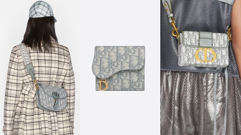 Dior Oblique老花染上特里亞農灰氣質破表,Bobby、30 Montaigne、錢包…5大品項全在這